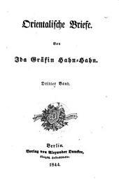 Orientalische Briefe: Band 3