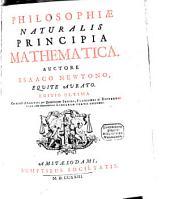 Philosophiae Naturalis Principia Mathematica: Analysis per Quantitatum Series, Fluxiones ac Differentias cum enumeratione Linearum Tertii Ordinis