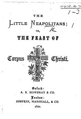The Little Neapolitans  Or the Feast of Corpus Christi PDF