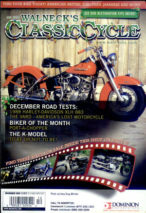 WALNECK S CLASSIC CYCLE TRADER  DECEMBER 2008 PDF
