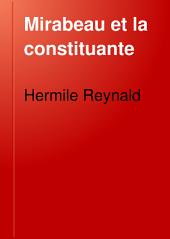 Mirabeau et la Constituante