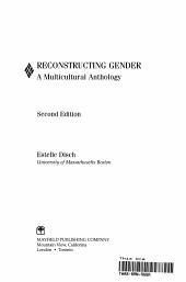 Reconstructing Gender PDF