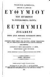 Patrologiae cursus completus, seu bibliotheca universalis, integra, uniformis, commoda, oeconomica, omnium SS. Patrum, doctorum scriptorumque ecclesiasticorum ...: Series Graeca ...