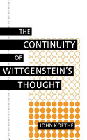 The Continuity of Wittgenstein s Thought PDF