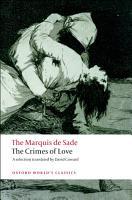 The Crimes of Love PDF
