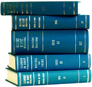 Recueil Des Cours  Collected Courses  1972 PDF
