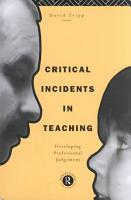 Critical Incidents in Teaching PDF