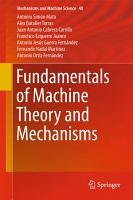 Fundamentals of Machine Theory and Mechanisms PDF