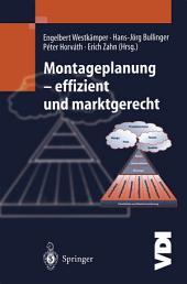 Montageplanung-effizient und marktgerecht