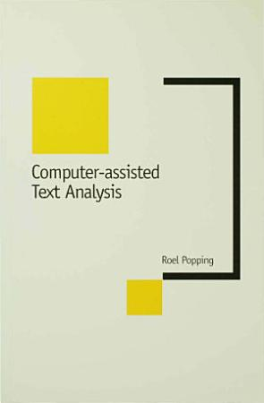 Computer Assisted Text Analysis PDF
