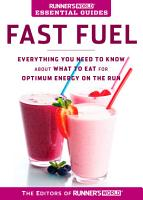 Runner s World Essential Guides  Fast Fuel PDF