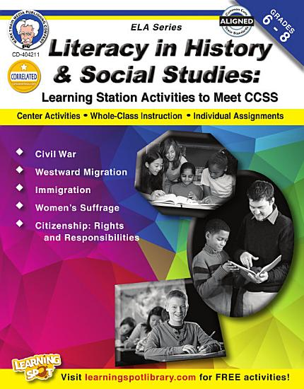 Literacy in History and Social Studies  Grades 6   8 PDF