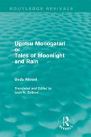 Ugetsu Monogatari or Tales of Moonlight and Rain  Routledge Revivals  PDF