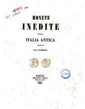 Monete inedite dell'Italia antica descritte da G.Fiorelli