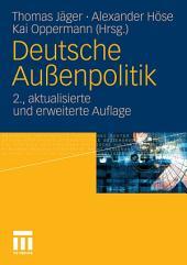 Deutsche Außenpolitik: Ausgabe 2