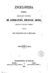 Enciclopedia moderna, 25: diccionario universal de literatura, ciencias, artes, agricultura, industria y comercio