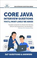 Core Java Interview Questions You ll Most Likely Be Asked PDF
