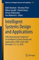 Intelligent Systems Design and Applications PDF
