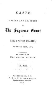 United States Reports: Cases Adjudged in the Supreme Court, Volume 80