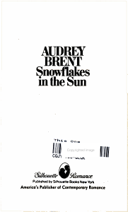 Snowflakes in the Sun Book