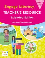 Engage Literacy Teacher s Resource PDF