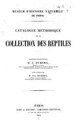 Catalogue méthodique de la collection des reptiles