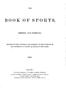 The Book of Sports  British and Foreign PDF