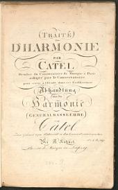 Traité d'harmonie: (Generalbasslehre)