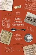 Early Jewish Cookbooks