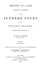 United States Reports: Cases Adjudged in the Supreme Court, Volume 19