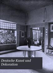 Deutsche Kunst und Dekoration: Band 16