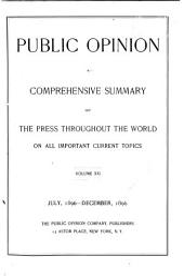 Public Opinion: Volume 21
