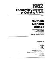 1982 Economic Census of Outlying Areas: Northern Mariana Islands