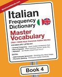 Italian Frequency Dictionary   Master Vocabulary