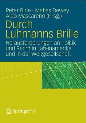 Durch Luhmanns Brille PDF