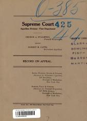 Supreme Court Record on Appeal