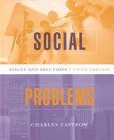 Social Problems Book