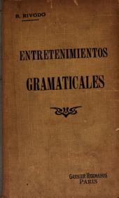 Entretenimientos gramaticales: Nombres geográficos