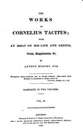 The Works of Cornelius Tacitus: Volume 2