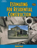 Estimating for Residential Construction PDF