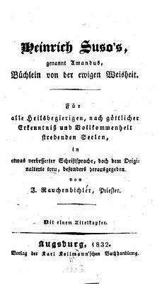 B  chlein von der ewigen Weisheit PDF