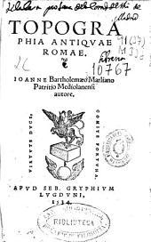 Topographia antiquae Romae
