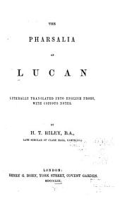 The Pharsalia of Lucan: Book 1
