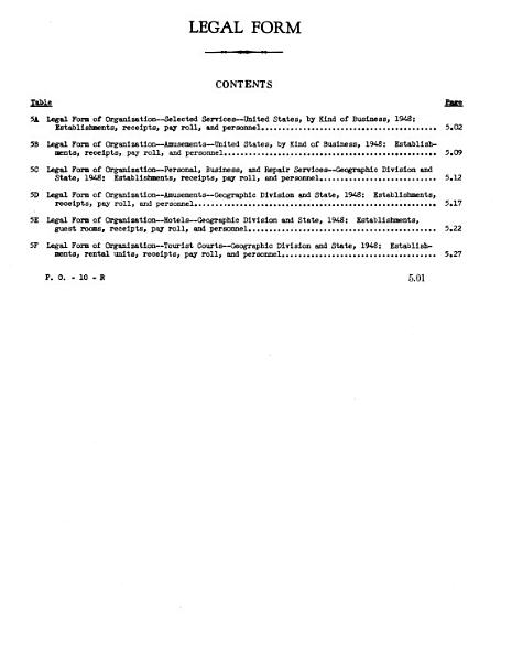 United States Census of Business, 1948: Service trade, general statistics