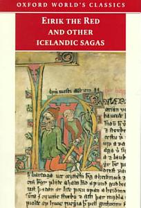 Eirik the Red and Other Icelandic Sagas Book