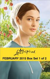 Love Inspired February 2015 - Box Set 1 of 2: A Match for Addy\Hometown Valentine\Healing the Widower's Heart\Big Sky Homecoming