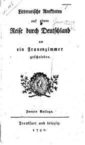 Litterarische Reise durch Deutschland. By Friedrich Schulz