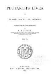 Plutarch's Lives: The Translation Called Dryden's