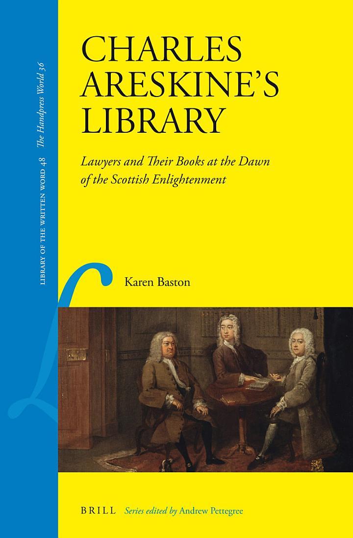 Charles Areskine's Library