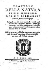 Trattato della Natura de'Cibi et del Bere, etc